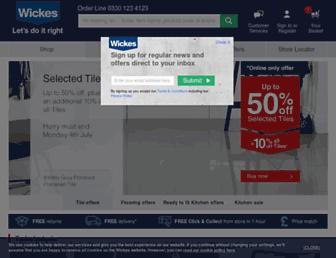 Thumbshot of Wickes.co.uk