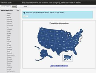 suburbanstats.org screenshot