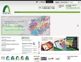 takaful-ikhlas.com.my screenshot