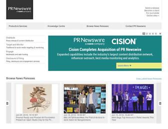 Thumbshot of Prnewswire.co.in