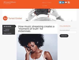 blog.tunedglobal.com screenshot