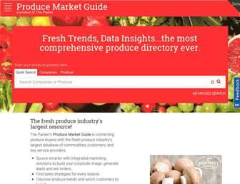 producemarketguide.com screenshot