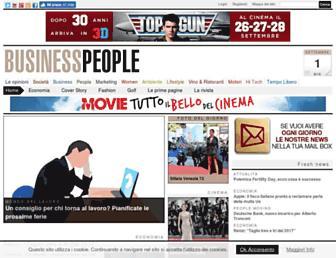 businesspeople.it screenshot