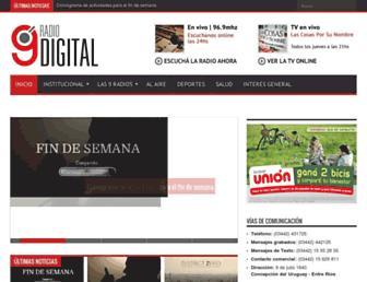 radio9digital.net screenshot