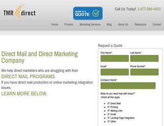 tmrdirect.com screenshot