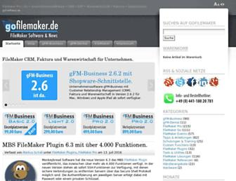 gofilemaker.de screenshot