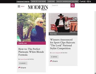 modernsalon.com screenshot