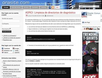 orasite.com screenshot