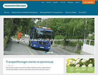 transportforetagen.se screenshot