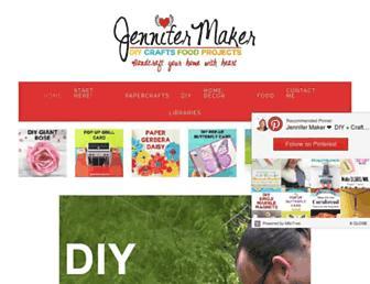 jennifermaker.com screenshot