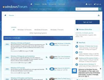 windowsforum.com screenshot