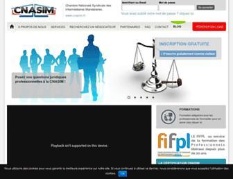 cnasim.fr screenshot