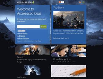 Thumbshot of Accelerated-ideas.com
