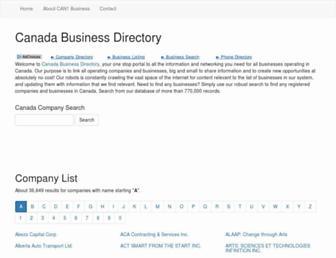 can1business.com screenshot