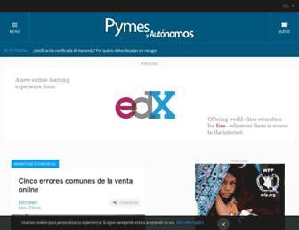 pymesyautonomos.com screenshot