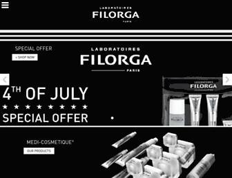 filorga.com screenshot