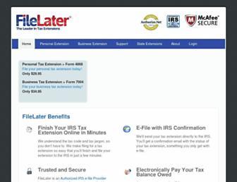 Thumbshot of Filelater.com