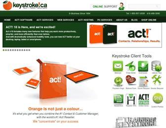 keystroke.ca screenshot