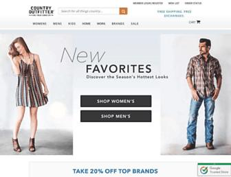 Thumbshot of Countryoutfitter.com