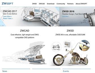 zwsoft.com screenshot