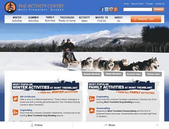 tremblantactivities.com screenshot