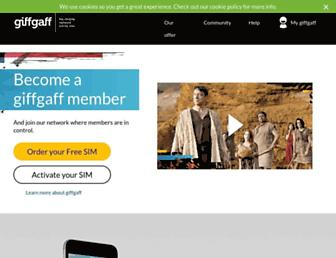 Thumbshot of Giffgaff.com