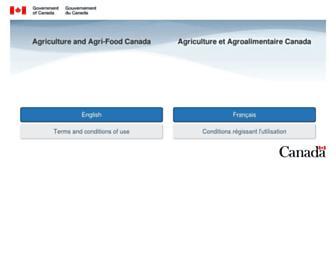 agr.gc.ca screenshot