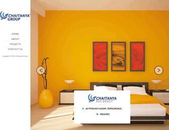 chaitanyagroup.co.in screenshot