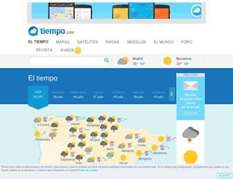 Thumbshot of Tiempo.com