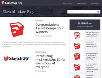 blog.sketchup.com screenshot