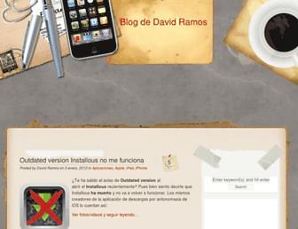 blog.davidramos.es screenshot