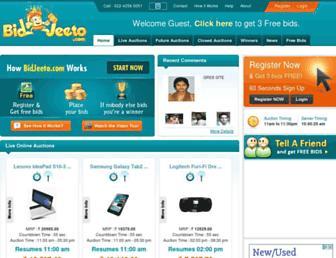 Thumbshot of Bidjeeto.com