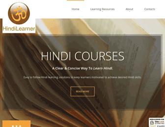 hindilearner.com screenshot
