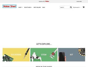 Thumbshot of Makershed.com