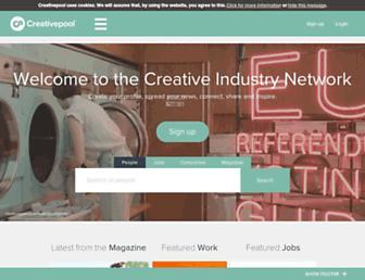 creativepool.com screenshot