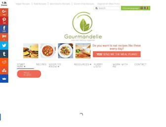 gourmandelle.com screenshot