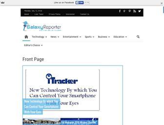 Thumbshot of Galaxyreporter.com