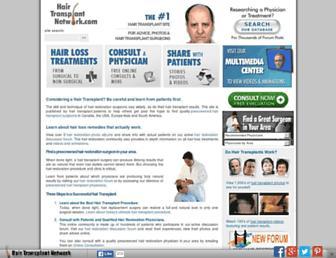 Thumbshot of Hairtransplantnetwork.com
