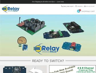 relaypros.com screenshot