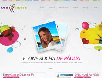 dnanutri.com.br screenshot