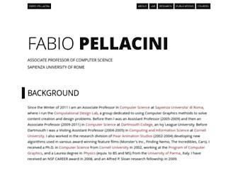 pellacini.di.uniroma1.it screenshot