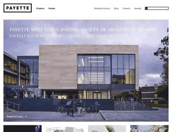 payette.com screenshot