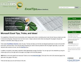 excelribbon.tips.net screenshot