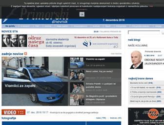 Thumbshot of Primorski.it