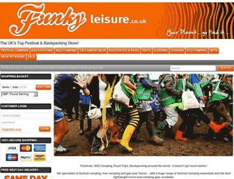 funkyleisure.co.uk screenshot