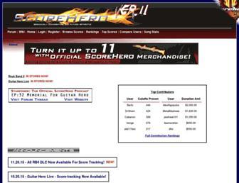scorehero.com screenshot