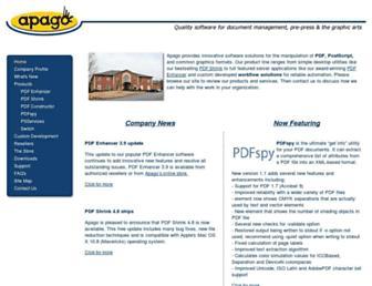 apagoinc.com screenshot