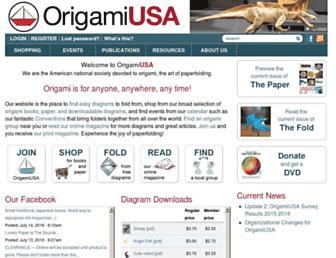 Thumbshot of Origamiusa.org