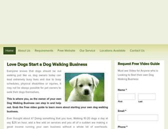 dogwalkingbusiness.com.au screenshot