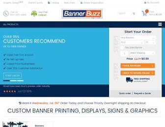 bannerbuzz.com screenshot